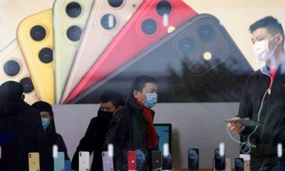 Apple đã đóng cửa văn phòng vàApple đóng cửa 42 cửa hàng bán lẻ Trung Quốc do coronavirus