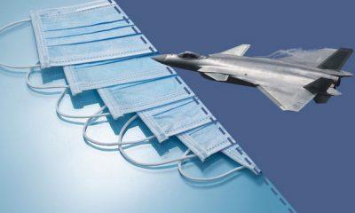 Trung Quốc áp dụng công nghệ chế tạo máy bay phản lực để sản xuất khẩu trang - Ảnh 1.