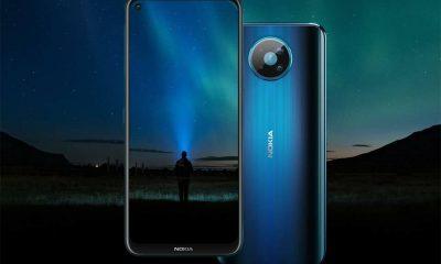 Nokia 8.3 5G có màn hình tràn viền, camera nốt ruồi.