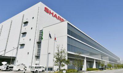 Một số dây chuyền sản xuất trong nhà máy của Sharp ở Kameyama sẽ được dùng để chế tạo khẩu trang. Ảnh: Japan Times.
