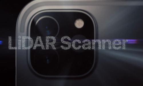 Cảm biến LiDAR trên iPad Pro