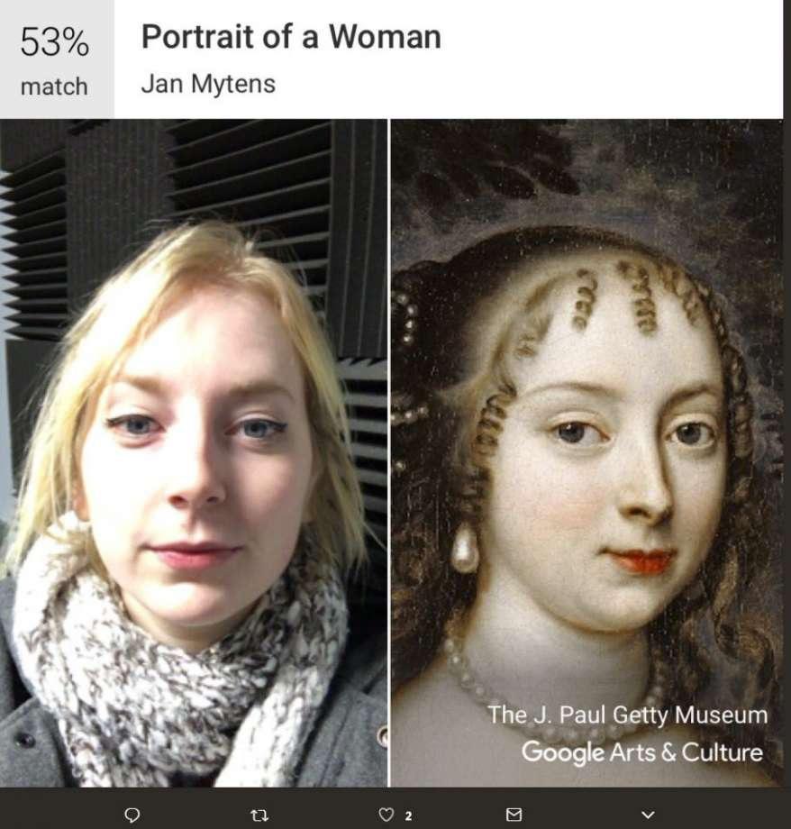 Thú vị ứng dụng kiểm tra ảnh chân dung của mình giống tác phẩm nghệ thuật nào - 3