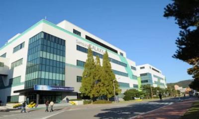 Nhà máy sản xuất smartphone của Samsung ở Gumi. Ảnh: Vernonchan.