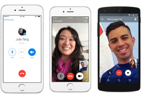 Thay đổi này của Facebook cho ứng dụng Messenger được cho là động thái cạnh tranh của hãng với các ứng dụng liên lạc OTT khác như Viber, Whats App hay Skype. Trong 2015, Facebook cũng triển khai tính năng gọi thoại và gọi điện hình ảnh trên Facebook Messenger. Tại Việt Nam, tính năng gọi điện của Facebook hoạt động khá mượt và ổn định với cả kết nối Wi-Fi lẫn 3G.