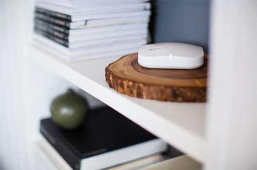 Eero says its more than just a router its a wi-fi system, using multiple (great-looking) stations to blanket even large or oddly-designed homes in sweet, sweet wireless Internet. Each individual Eero costs $199, while a pack of three will run you $499.